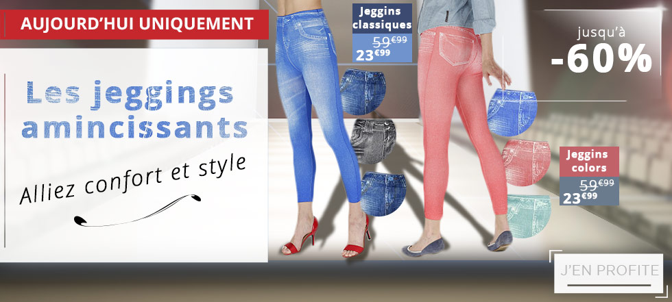 Les jeggins amincissants-alliez confort et style