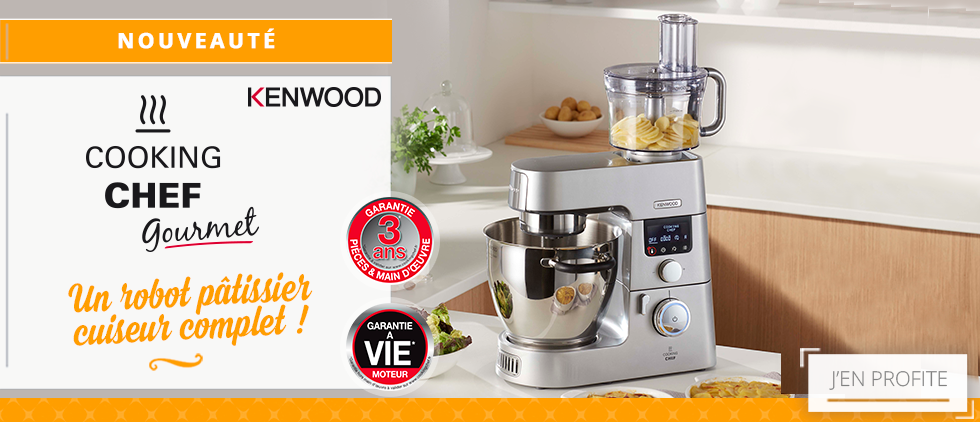 Robot cuiseur patissier cooking chef gourmet kenwood