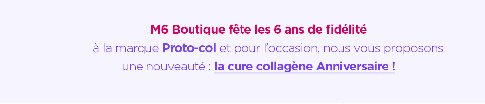 Cure collagène anniversaire