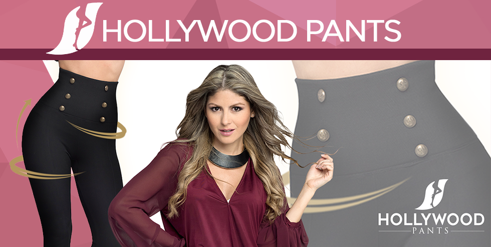 Hollywood pants pantalons minceur