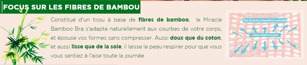 Soutiens-gorge bamboo bra