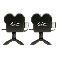 WINDOW WONDERLAND - Projecteur Vidéo - Lot de 2