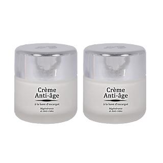 Un anti-âge unique. A base de protéine d'escargot Collagène et élastine Régénère, nourrit Améliore l'élasticité de la peau.
