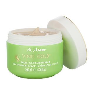 Crème au succès international ! Soin anti âge 24 h A base d'huile de pépins de raisin Efficacité prouvée Pôt 200 ml : 6 mois.