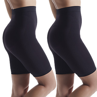 Le panty amincissant haute technologie ! Technologie de thermo-régulation Tissu gainant et raffermissant Effet micro-massant