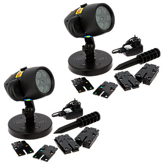 STAR SHOWER SLIDE SHOW - Projecteur LED- Lot de 2 M6 Boutique