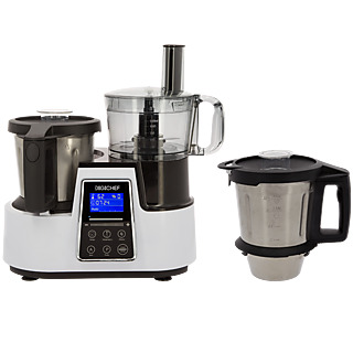 LÂ'aide culinaire tout en 1 indispensable ! - Robot cuiseur multifonctions - 4 programmes AUTO et de nombreux accessoires - Panneau de contrôle tactile et design - Facile dÂ'utilisation.