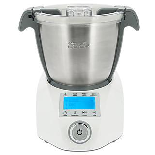 Votre compagnon idéal en cuisine ! - Compact mais grande capacité - Appareil multifonction 12 en 1 : cuire, fondre, saisir, mijoter, cuire à la vapeur, mélanger, hacher, mixer, battre, pétrir, émulsionner, et moudre - 34 programmes automatiques et un pro