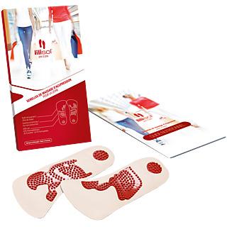 Marchez, Mincissez ! Demi-semelles à picots brevetées Utilise la méthode de l'acupression En moyenne, perte de poids 4 fois plus importante, qu'avec un régime seul Pour toutes vos chaussures
