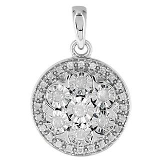 Un trophée éblouissant Argent 925 rhodié 31 diamants 0.19 carat.