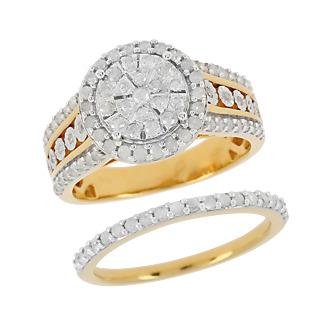 Diamonescence Bague Lien Eternel