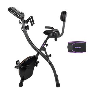 Un appareil 2 en 1 pour sculpter votre silhouette ! Travaillez votre cardio en combinant 2 exercices Un appareil complet et idéal Simple d'utilisation et peu encombrant.