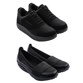 Les chaussures confort qui musclent votre corps. La paire de ballerines offerte Semelle biomécanique Musclent les jambes et les fessiers Répartition optimale du poids du corps