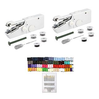 RETOUCHES FACILE x2 Machine à coudre à piles + Kit Bobines