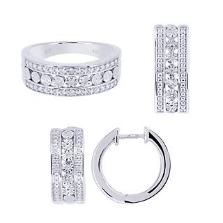Parure bijoux pierre precieuse M6 Boutique