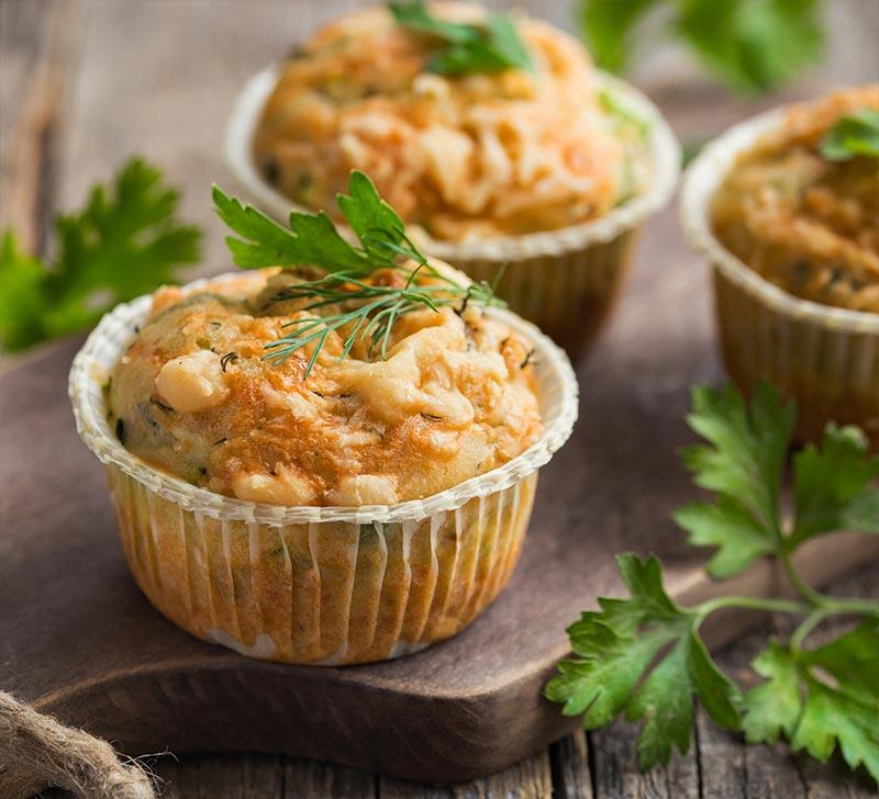 Recette muffins comte avec la Compact Cook Elite