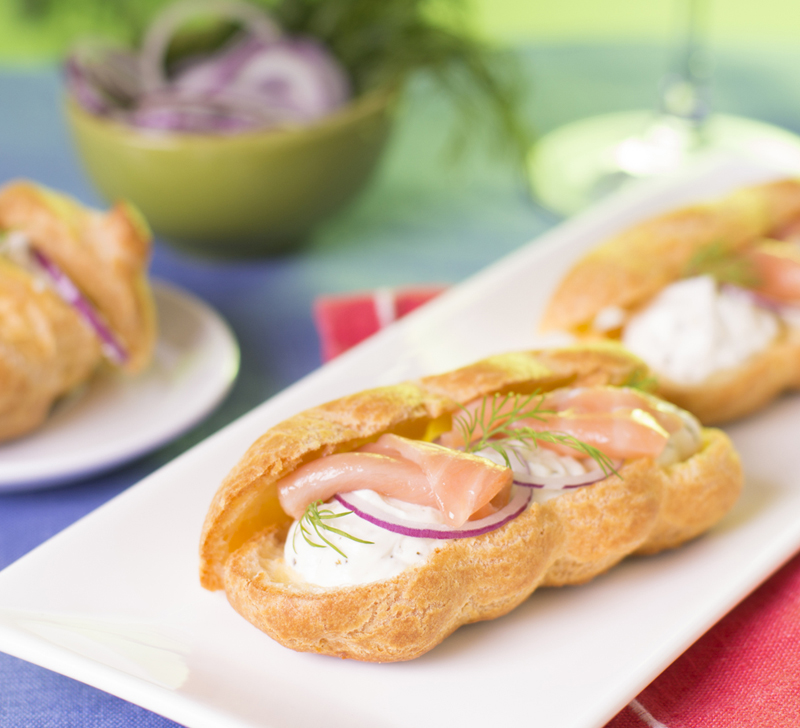 Recette Eclairs Saumon Pomme Granny Compact Cook
