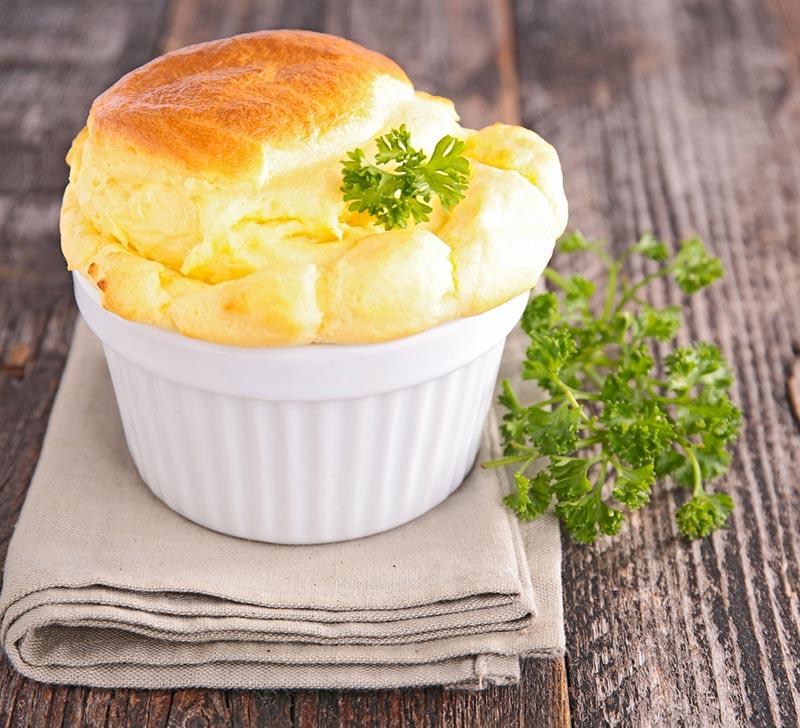 Recette de soufflé au fromage avec le Compact Cook Elite