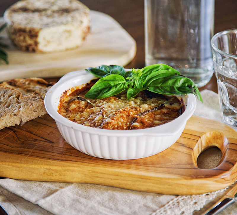 Recette d'aubergines farcies thon avec la Compact Cook Elite