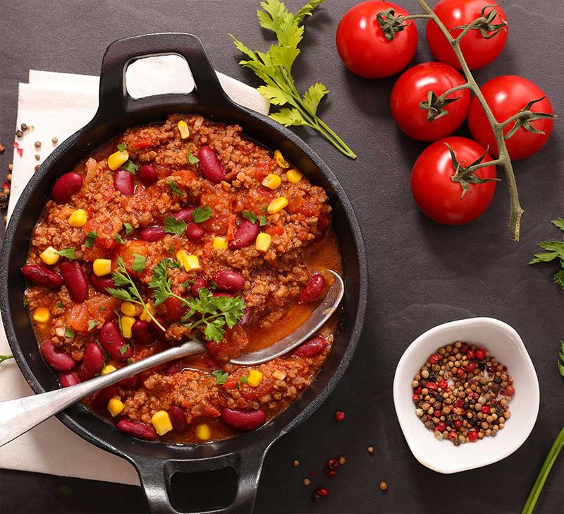 Recette de Chili Con Carne avec la Compact Cook Elite