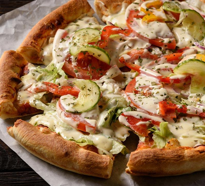 Recette de Pizza vegan avec le Compact Cook Elite