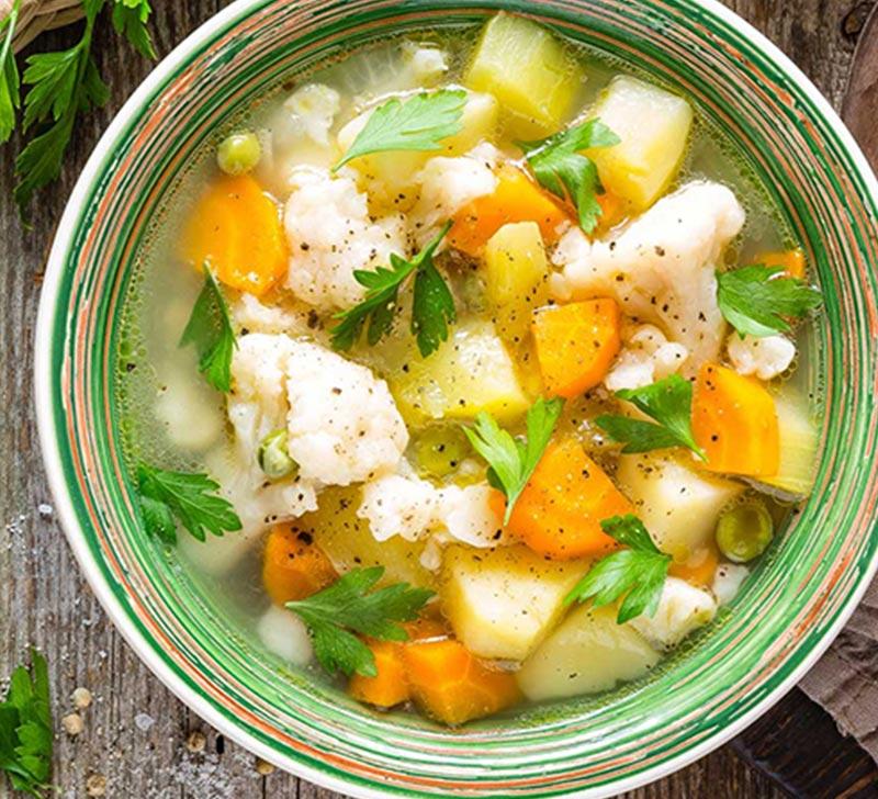 Recette soupe moulinee legumes avec la Compact Cook Elite