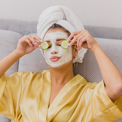Soin du visage – Masque antirides hydratant purifiant