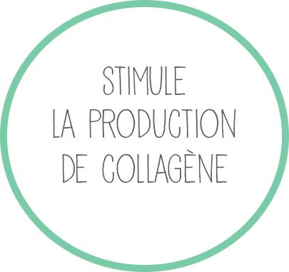 Stimule la production de collagène