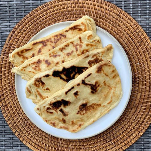 Recette de Naans au fromage le Compact Cook Pro