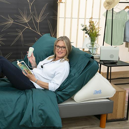 Power Bed, un lit ajustable sur demande