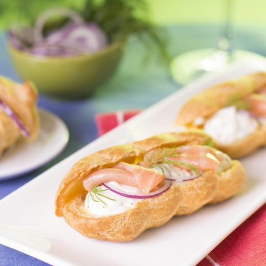 Recette d'éclairs au saumon et pomme granny avec le Compact Cook Elite